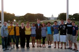 PSIP students in the Nation's Capital