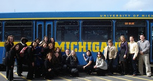 UM students at the Valassis Immersion Excursion